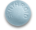 150 mcg dose; Blue Synthroid Pill