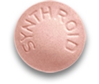 200 mcg dose; Pink Synthroid Pill
