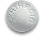 50 mcg dose; White Synthroid Pill