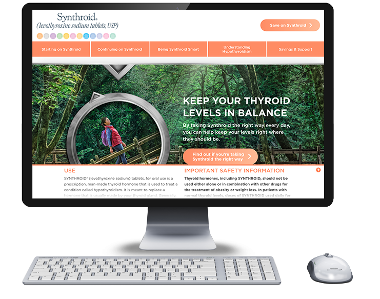Resources Synthroid Patient Website